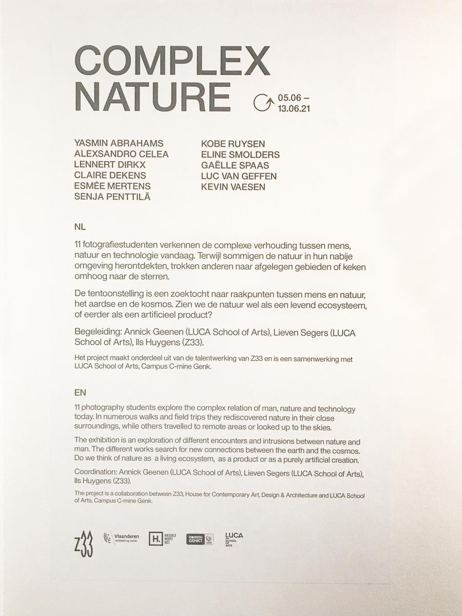 Complex Nature
